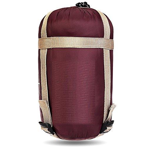 Sanva - sacco a pelo estivo ultraleggero con borsa per il trasporto, ideale per attività all'aria aperta, viaggi, campeggio, alpinismo, escursionismo, pesca, rot