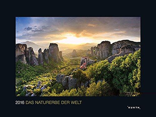 KUNTH Kalender Das Naturerbe der Welt 2016 (KUNTH Wandkalender Black Edition)