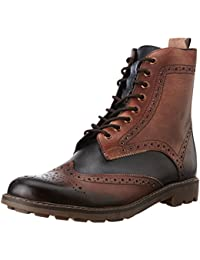 Knotty Derby Men's Dolohov Brogue Leather Boots