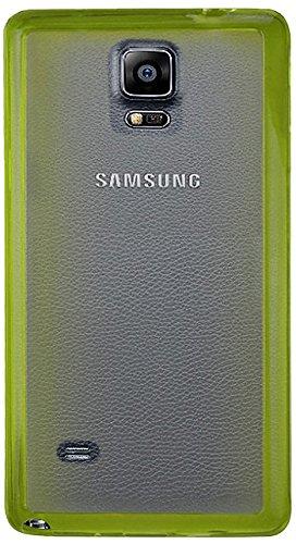 Reiko Schutzhülle für Samsung Galaxy Note 4 N91V, N91Pn91T, N91R4, kabellos, zweifarbig, Grün (Galaxy Us Note4 Samsung Cellular)