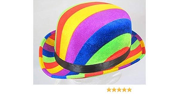 Bowler Hat Rainbow colours 61cm 00a441726e4