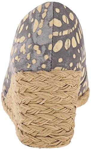 Lauren Ralph Lauren  Cecilia, Semelle compensée femme Stone/Wheat Batik Floral