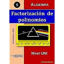 Factorización de polinomios: Álgebra (Las matemáticas son fáciles nº 5)