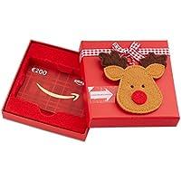 Amazon.de Geschenkgutschein in Geschenkbox (Rentier) - mit kostenloser Lieferung am nächsten Tag