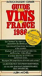Guide des vins de France : 1986
