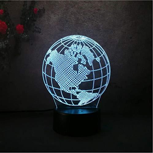 Lava Lampara Erdkugel Karte Nachtlicht Schlafzimmer Tisch 3D Led Bunte Lampe Kind Rc Spielzeug Halloween Weihnachtsgeschenk