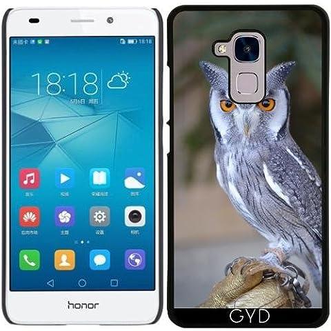 Funda para Huawei Honor 5C - La Vida Silvestre De Aves Búho Real by WonderfulDreamPicture