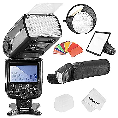 Neewer® NW910/MK910 i-TTL 1/8000s HSS LCD Screen Speedlite Master/Slave Flash
