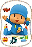 Pocoyo 65974 Puzzle Shaped Party, Multi Colour, One Size