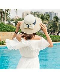 b6c38836ba427 LLZTYM Sombrero Para El Sol Niña Verano Viaje Protector Solar Sombrilla  Plegable De Vacaciones Playa Gorra De…