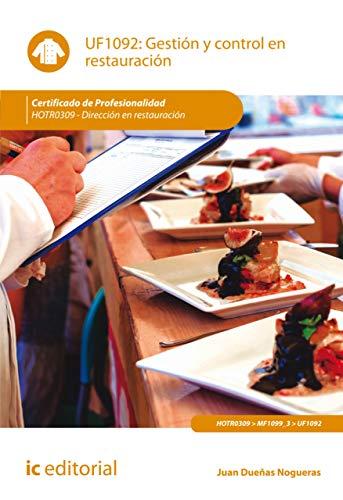 Gestión y control en restauración. HOTR0309 eBook: Juan Dueñas Nogueras: Amazon.es: Tienda Kindle