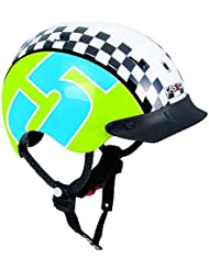 Casco Mini-Generation Racer 5 - Casco infantil para bicicleta de paseo, color multicolor ( 44 - 50 cm )