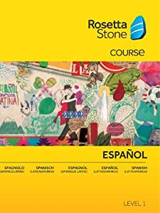 Rosetta Stone Spanish (Latin America) Level 1 PC  [Download]