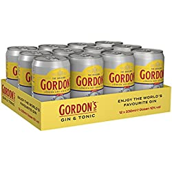 Gordon´s London Dry Gin und Tonic (12 x 0.33 l)