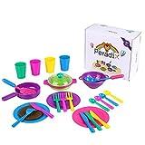 Peradix Geschirr Spielzeug Küche Spielzeugset Kinder Rollenspiele (#1)