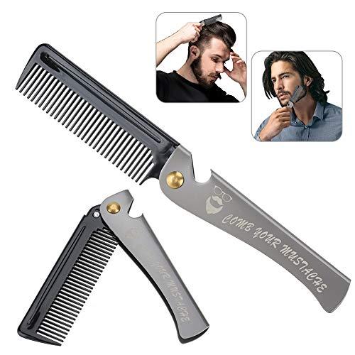 Peine hombres, Herramienta peluquería plegable