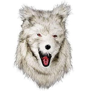 Boland 72190Cabeza máscara Hombre Lobo con Piel
