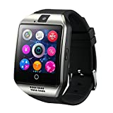 GreatCool Smart Watch,Touch Screen Bluetooth dell'orologioTelefono con SIM Card Slot Fotocamera OLED Orologio Fitness Sport Android Wear Pedometro Bluetooth per Samsung Sony Android Smartphone
