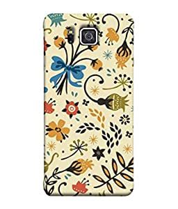 Snapdilla Designer Back Case Cover for Samsung Galaxy Alpha :: Samsung Galaxy Alpha S801 :: Samsung Galaxy Alpha G850F G850T G850M G850Fq G850Y G850A G850W G8508S :: Samsung Galaxy Alfa (Wallpaper Backcover Pouch Yellow Brown Background Nature)
