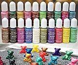 15g Crisoberillo Colore Perla di Pigmento Colorante UV Resina Artigianato fai da te resina Epossidica Stampo in Silicone Colorante Liquido a Mano Gioielli Fascino della Melma Fare