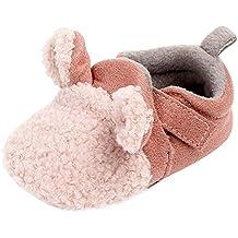 Primeros Pasos para Bebé ,❤ Amlaiworld Zapatos recién Nacidos de Suela Blanda de Invierno