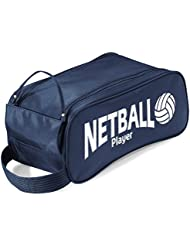 iClobber Netball Player Design Accessory Boot Shoe Bag
