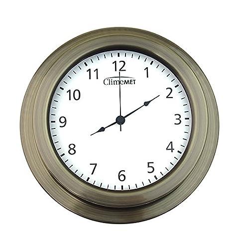 ClimeMET CM4301 Quartz Classic Wall Clock.