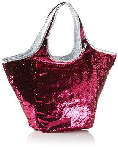 Xyxyx Sequins Bag, sac bandoulière Pink (fuchsia/silver)