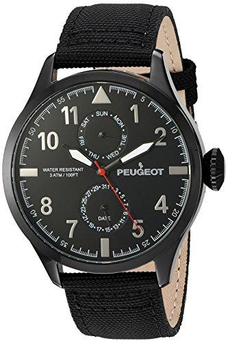 peugeot-orologio-da-uomo-in-nylon-con-calendario-con-giorno-e-data-colore-nero-motivo-aviatore