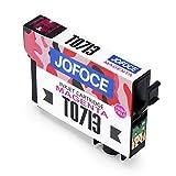 Jofoce Tintenpatrone für EPSON T0711 T0712 T0713 T0714 T0715 Druckerpatrone, Kompatibel mit Epson Stylus Office BX300F BX310FN BX610FW, Stylus SX115 SX215 DX8400 SX218 SX515W SX200 DX7400 Drucker Vergleich
