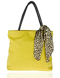 Leora Women's Tote Bag (Yellow) (HNMG1129M)