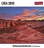 USA - Kalender 2018: Sehnsuchtskalender, 53 Postkarten -