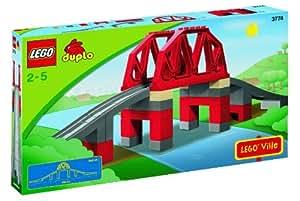 DUPLO - Jeu de construction premier âge - Train - Le Pont