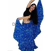 Dancers mondo cotone 22,9m Pois gonna per danza del ventre