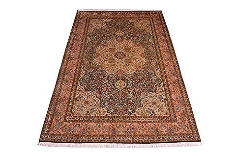 Classique handgeknüpfter Orient Tapis Cachemire soie en