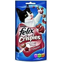 Purina Felix Crispies Buey y Pollo 45g