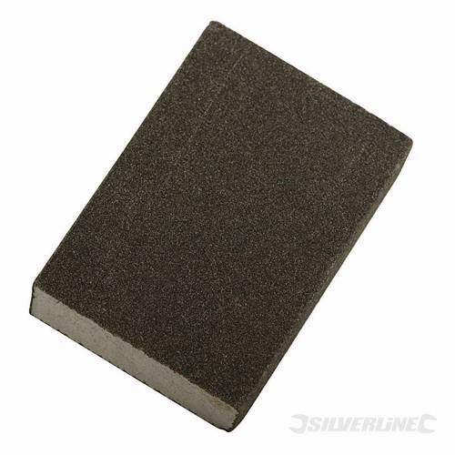 Power Tool Accessories Schleifschwämme Schaumstoff Schleifklotz Fine & Med kann Nass oder Trocken für Schleifen Fast jede Art von Material, flach oder konturierten. 70mm x 100mm x 25mm.