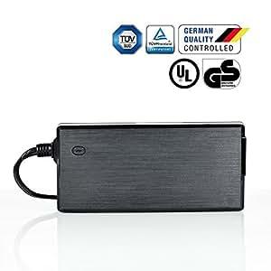LEICKE Netzteil 120 Watt 12V 10A 5,5*2,5mm, ideal für ITX Pico PSU®, NAS Laufwerke, Router, Lichtschläuche und LED-Strips geeignet! | Euro - Netzkabel im Lieferumfang enthalten!