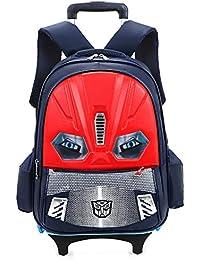 Preisvergleich für XIAODONG Kinder Zwei Rädern Rad Tasche Wasserdicht Schultasche Für Kinder Und Kinder Outdoor-Reise Abnehmbaren...