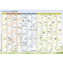 Der Schuljahres-Wandkalender 2017/2018