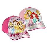 Eurowebb Casquette pour Petite Fille Princesses Disney Couleur - Rose foncé