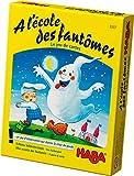 HABA- A l'école des fantômes - Le Jeu de Cartes, 3337, Coloré