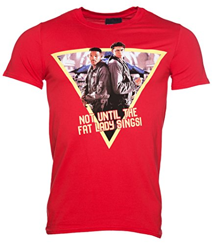 Mens Red Fat Lady Sings Independence Day T Shirt (Day T-shirts Independence)