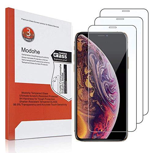 Modohe [3 piezas] protector pantalla iphone XS Max