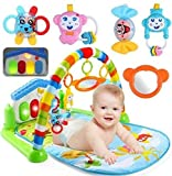 #9: Toyboy Kick and Play Musical Piano Gym with Hanging - Color/Print May Vary (Multi)