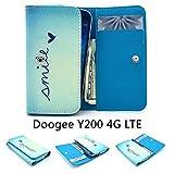 ZeWoo PU Leder Brieftasche für Doogee Y200 (5.5 Zoll)
