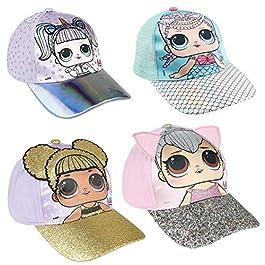 MGA L.O.L. Surprise! – Cappello con Visiera Premium con Particolari 3D – Full Print – Bambina – novità Prodotto Originale con Licenza Ufficiale 22-409X