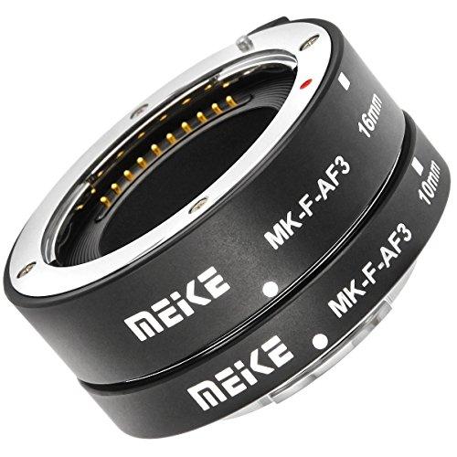 Anello intermedio automatico 2pz 10 e 16 per fotografie macro adatto Fujifilm Micro DSLR * * metallo contatto * *
