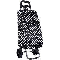 portable piegare carrello supermercato carrello piccoli carri bagaglio cart addensato telaio in acciaio dipinto di solida gomma ruota indossare impermeabile raso