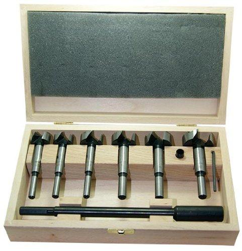 "Preisvergleich Produktbild ENT Forsnterbohrer ""Wave Cutter"" Set 8-teilig Durchmesser (D) 15-20-25-30-35-40 mm"